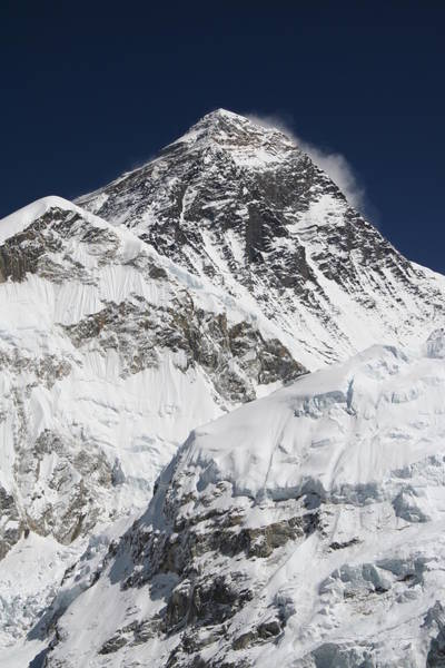 Nepal Wall Art - Photograph - Mount Everest 8850 M by Pal Teravagimov Photography