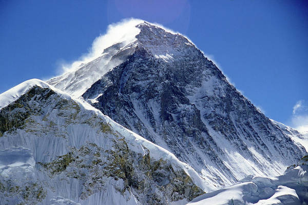 Wall Art - Photograph - Mount Everest, Himalayas, Nepal by Travel Ink