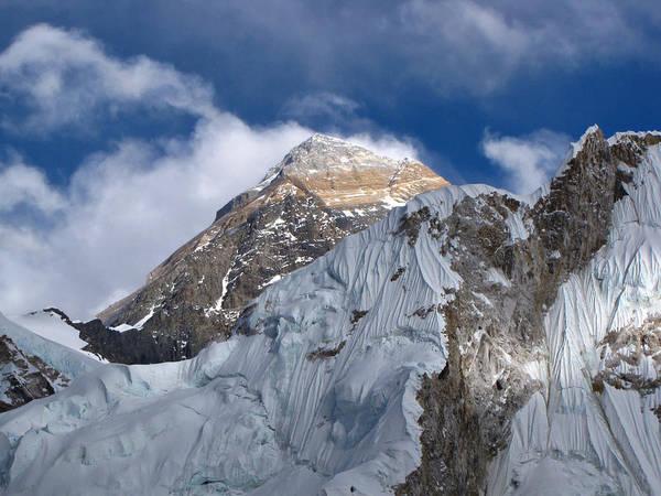Nepal Wall Art - Photograph - Mount Everest-kala Patar-everest Base by Copyright Michael Mellinger