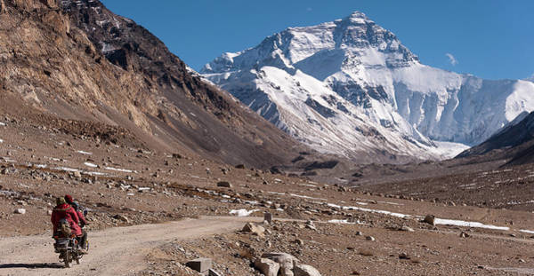 Wall Art - Photograph - Mount Everest, Tibet by Keith Mcinnes Photography