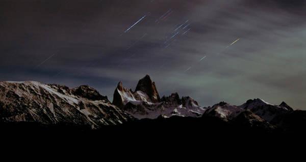 Digital Effect Photograph - Mount Fitz Roy, Cerro Chalten, Cerro by Mint Images - David Schultz