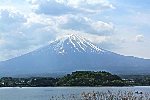 Photograph - Mt. Fuji, Japan by Richard Krebs