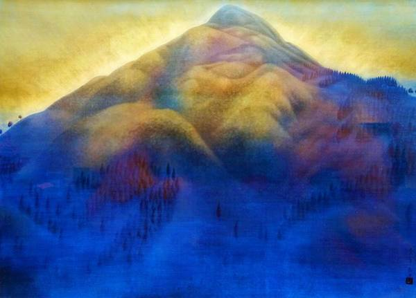 Wall Art - Painting - Mount Hiei - Digital Remastered Edition by Hayami Gyoshu