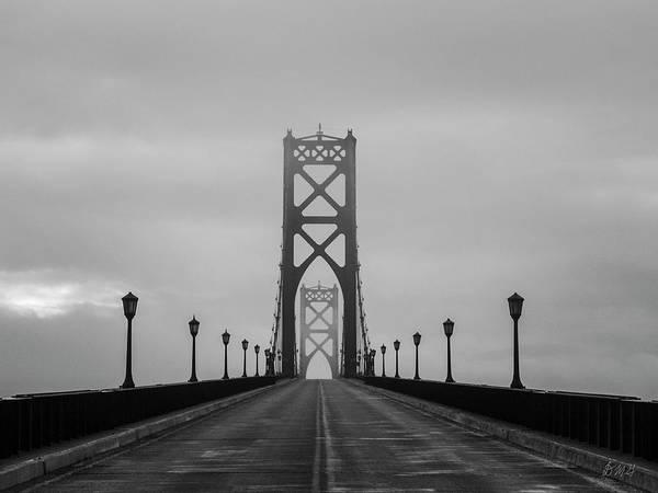 Photograph - Mount Hope Bridge II Bw by David Gordon