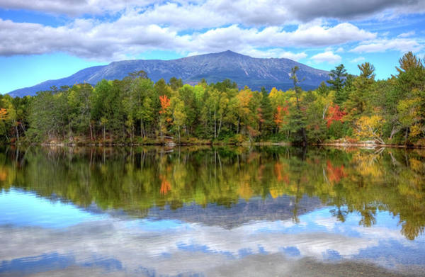 Scenic Photograph - Mount Katahdin by Denistangneyjr