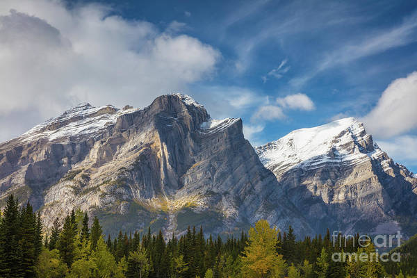 Wall Art - Photograph - Mount Kidd by Inge Johnsson