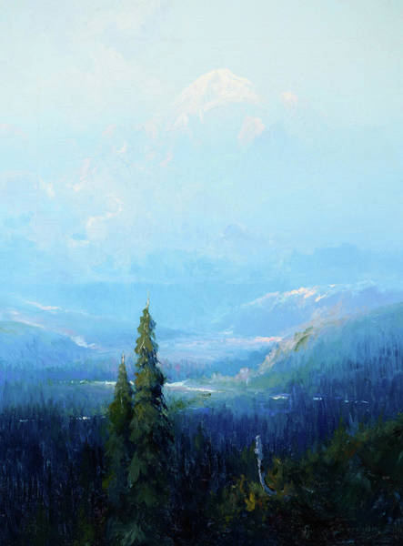 Wall Art - Painting - Mount Mckinley, Alaska, 1922 by Sydney Laurence