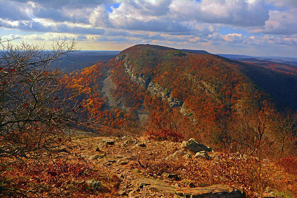 Photograph - Mount Minsi In The Fall by Raymond Salani III