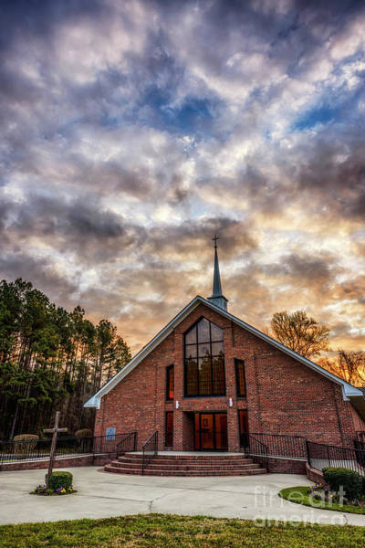 Photograph - Mount Moriah Baptist Church by Thomas R Fletcher