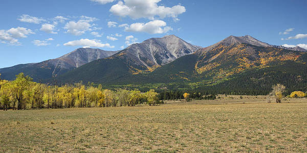 Photograph - Mount Princeton - Autumn by Aaron Spong