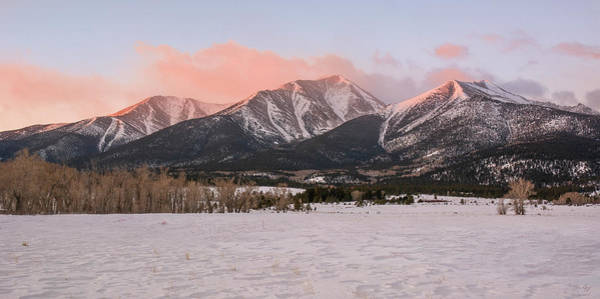 Wall Art - Photograph - Mount Princeton - Winter by Aaron Spong