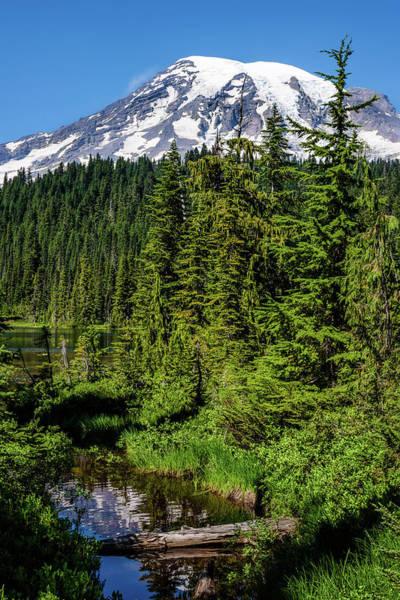 Mount Rainier - Reflection Lake Art Print