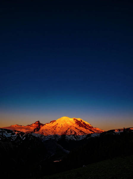 Wall Art - Photograph - Mount Rainier Sunrise 2 by Pelo Blanco Photo