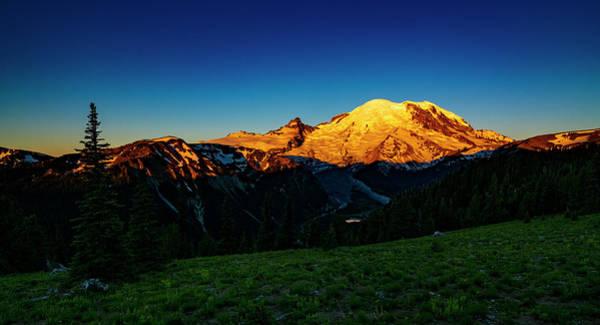 Wall Art - Photograph - Mount Rainier Sunrise 3 by Pelo Blanco Photo