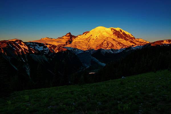 Wall Art - Photograph - Mount Rainier Sunrise 4 by Pelo Blanco Photo
