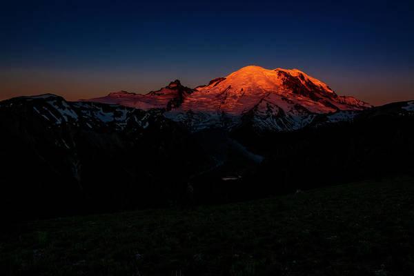 Wall Art - Photograph - Mount Rainier Sunrise by Pelo Blanco Photo