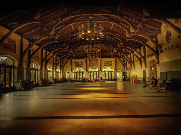 Photograph - Mount-royal Chalet Interior by Juan Contreras
