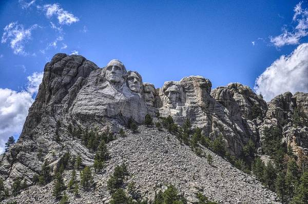 Photograph - Mount Rushmore  by Chance Kafka