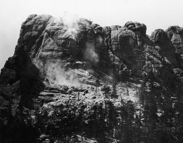 Rushmore Photograph - Mount Rushmore by Fpg