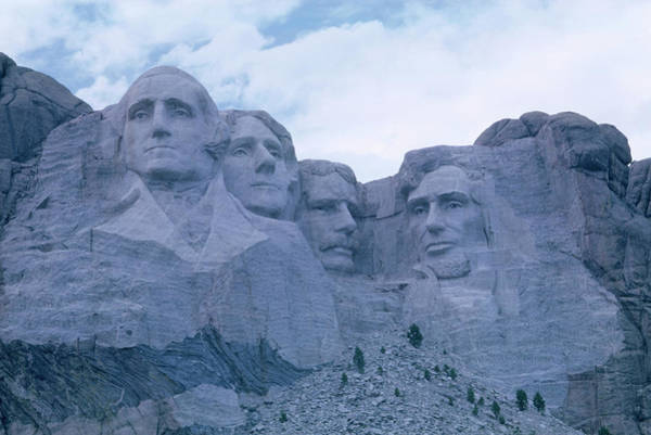 Rushmore Photograph - Mount Rushmore. Mount Rushmore National by Rory Gordon - Michael Ramage