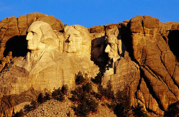 Rushmore Photograph - Mount Rushmore National Park by Richard Cummins
