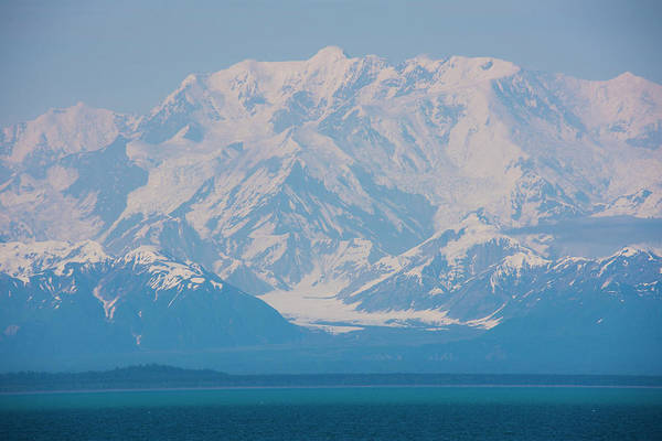 Photograph - Mount Saint Elias Alaska by Yulia Kazansky