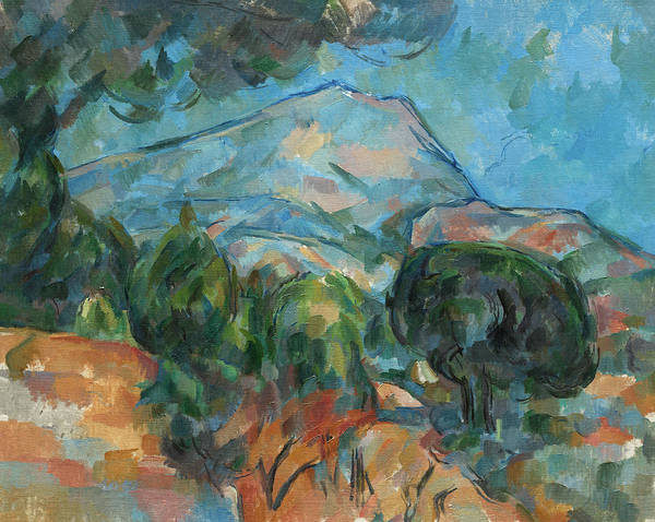 Wall Art - Painting - Mount Sainte-victoire, 1904 by Paul Cezanne