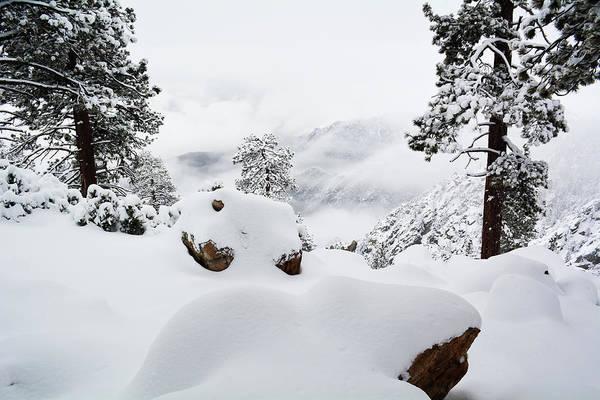 Photograph - Mount San Jacinto Winter Storm by Kyle Hanson