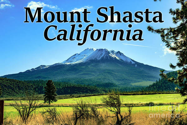 Photograph - Mount Shasta California by G Matthew Laughton