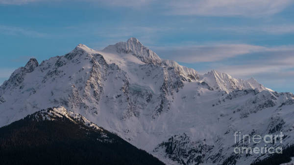 Wall Art - Photograph - Mount Shuksan Aerial North Face by Mike Reid
