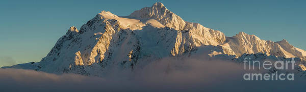 Wall Art - Photograph - Mount Shuksan Pano Above The Clouds by Mike Reid