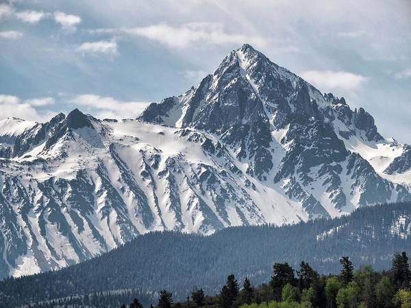Fourteener Photograph - Mount Sneffels by Connor Beekman