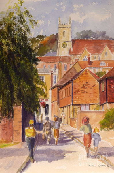 Painting - Mount Street, Hythe, Kent by Beatrice Cloake
