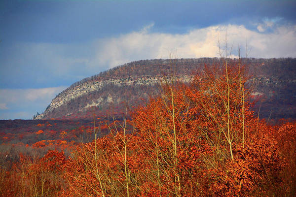 Photograph - Mount Tammany From Route I-80's Scenic Overlook by Raymond Salani III