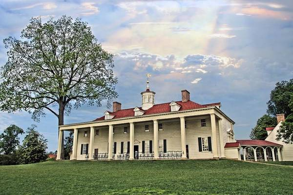 Mount Vernon Photograph - Mount Vernon by DJ Florek