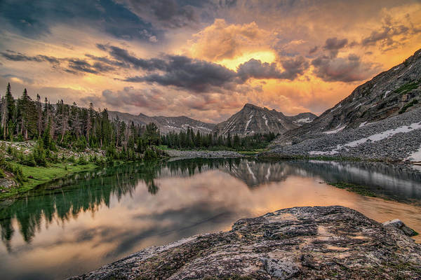 Altitude Photograph - Mountain Beauty by Leland D Howard