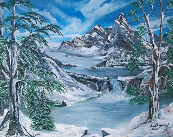Painting - Mountain Blues  by Sharon Duguay