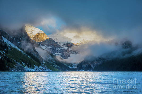 Canadian Rockies Wall Art - Photograph - Mountain Drama by Inge Johnsson