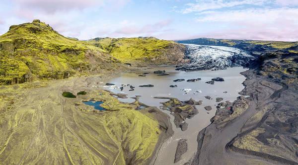 Photograph - Mountain Glacier by David Letts