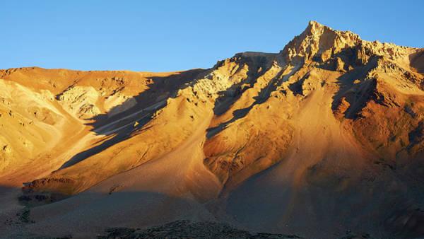 Mountain Gold Art Print