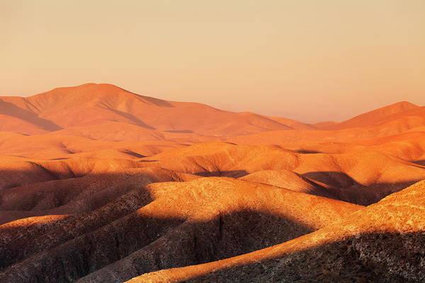 Crevice Photograph - Mountain Landscape At Sunset, Mountains by Markus Lange / Robertharding