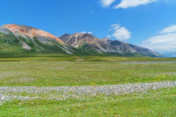 Wall Art - Photograph - Mountain Landscape Naryn Gorge Naryn Region Kyrgyzstan by imageBROKER - GTW