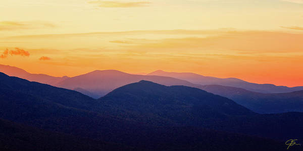 Photograph - Mountain Light And Silhouette  by Jeff Sinon
