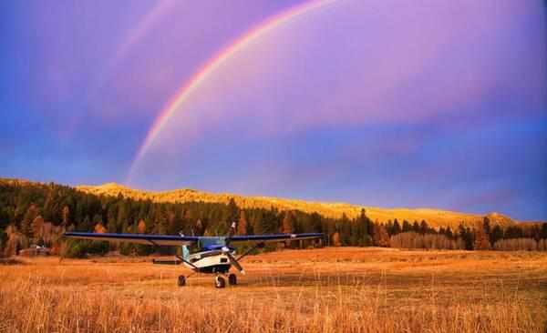 Photograph - Mountain Light Idaho by Tom Gresham