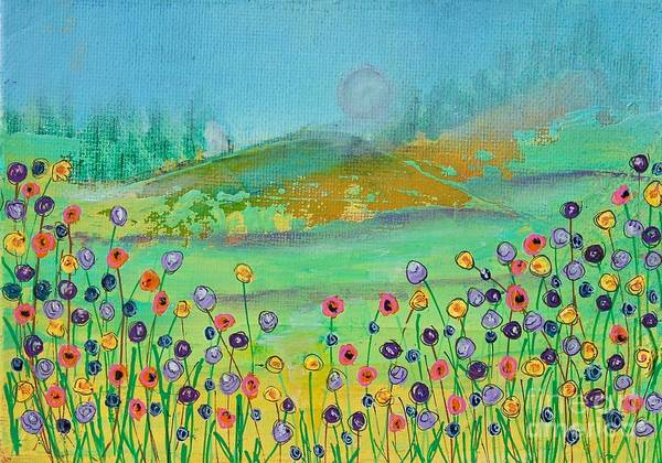 Painting - Mountain Meadow by Kim Nelson