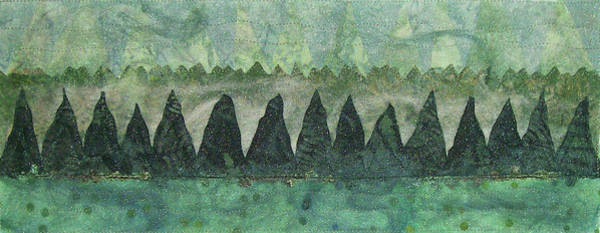 Tapestry - Textile - Mountain Mist by Pam Geisel