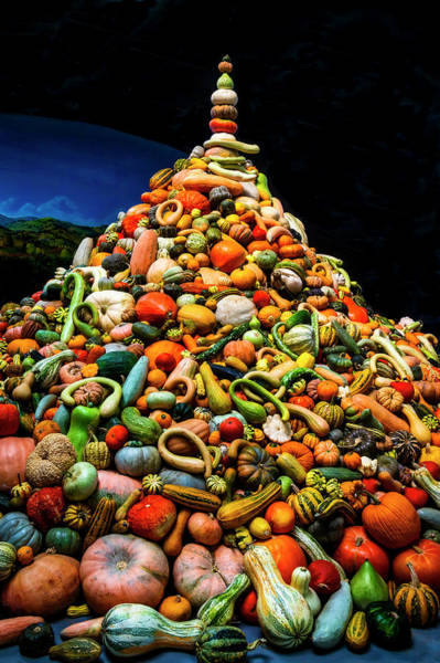 Gourd Photograph - Mountain Of Gourds by Garry Gay