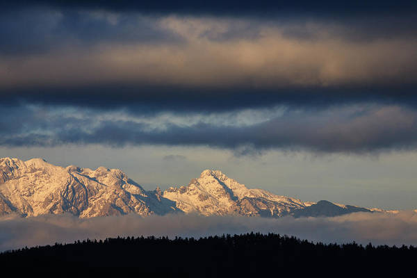 Wall Art - Photograph - Mountain Peaks, Kamnik Alps, Slovenia. by Ian Middleton