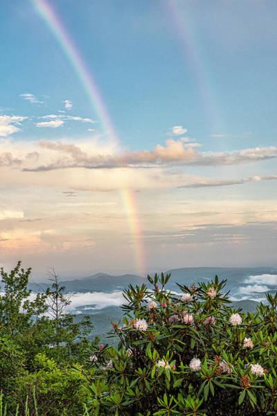 Photograph - Mountain Rainbow Vertical by Ken Barrett