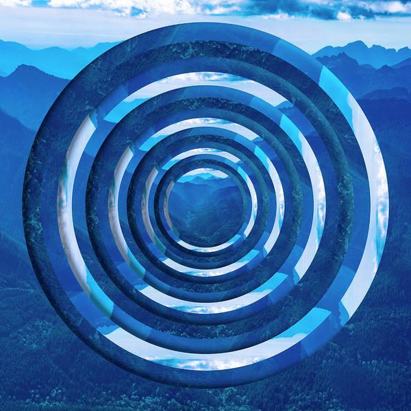 Wall Art - Photograph - Mountain Range Circles by Pelo Blanco Photo